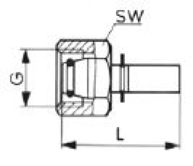 Press-type fitting DN3 tube